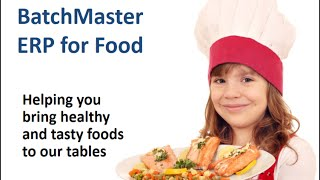 Food Manufacturing ERP Software