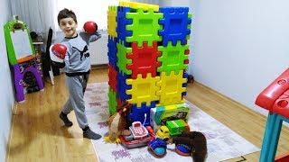 Emir Play Do you sleep???   Magic toy box machine  Funy kid video