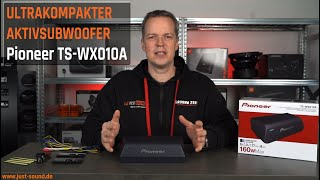 Ultrakompakter Aktivsubwoofer - Pioneer TS-WX010A -  Produktvorstellung