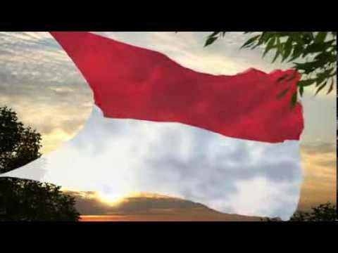 Indonesia Flag & National Anthem