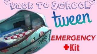 DIY GIRLS EMERGENCY KIT ( FOR SCHOOL)