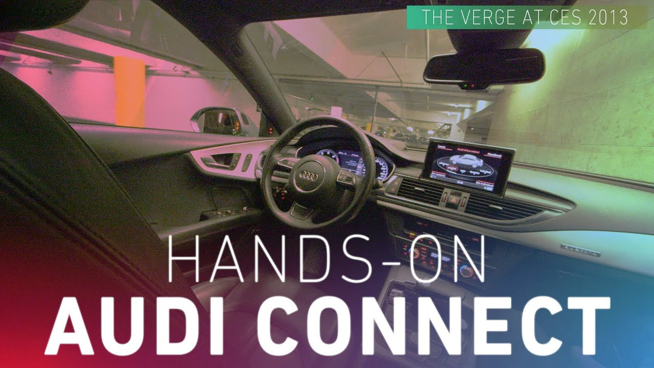 Hands-on with Audi's self-driving car at CES 2013 thumbnail
