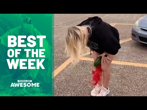 Watermelon Crushing, Balance Exercises & More | Best of the Week