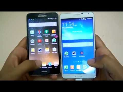 Samsung Galaxy Note 3 Neo Vs Note 3 Hands-on (hindi) Mp3