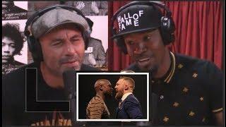 "Joe Rogan & Jamie Foxx on Conor vs.  Floyd ""It's a Freak Show!"""
