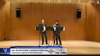 DUO W. PUYEAR & S. FLORES play Staying the night by D. Bindenbender