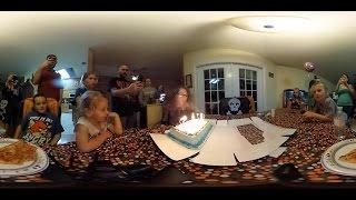 360 Birthday Vlog! 🔥 🎂 VR