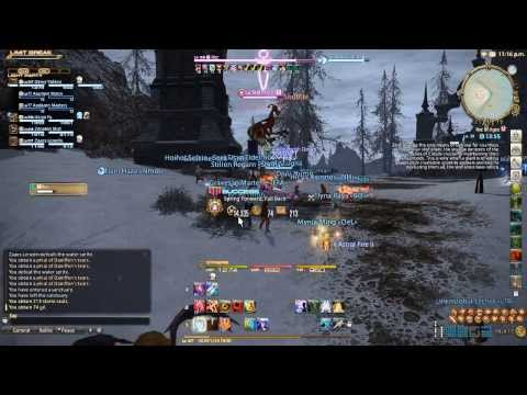 Final Fantasy XIV: ARR - FATE Farming Guide/Tips || Fastest way to 50! with Dervy