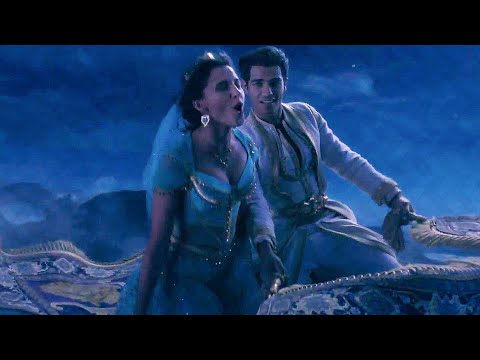 A Whole New World Song Scene - ALADDIN (2019) Movie Clip