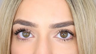 My Quick Brow & Mascara Routine