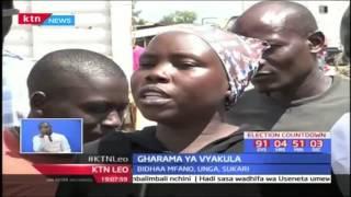 KTN Leo taarifa kamili: Jumba laporomoka Mombasa - 08/05/2017