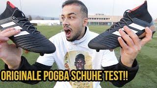 ORIGINALE POGBA FUSSBALLSCHUHE TEST + GEWINNSPIEL!!