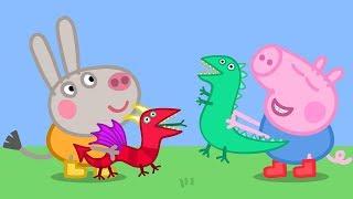 Peppa Pig En Español Episodios Completos | ¡George Y Didier Donkey! | 1 Hour | Dibujos Animados