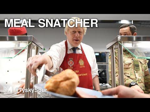 Revolt Against Johnson On Free School Meals | #TyskySour