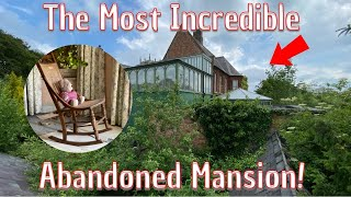 We Explore An Abandoned House With Absolutely Everything Left Behind!..