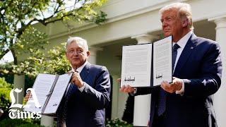 Mexican President López Obrador praises U.S.-Mexico relations
