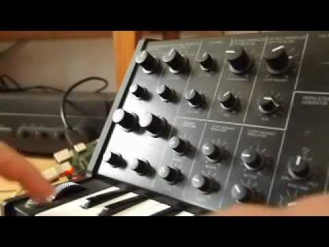 Raspberry Pi MS Synth Takes Over Korg MS20 Controller