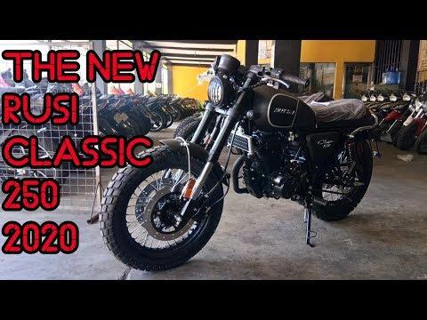 THE NEW RUSI CLASSIC 250 2020