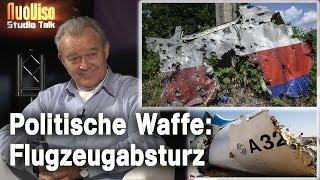 Politische Waffe: Flugzeugabsturz – Peter Haisenko im NuoViso-Talk