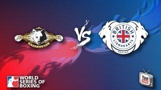 Astana Arlans Kazakhstan - British Lionhearts - Week 3 - WSB Season 3
