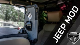 Rokform Rugged Case & Swivel Dash Mount - Install and Review