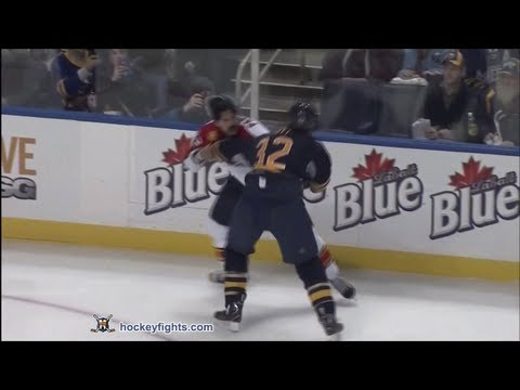 John Scott vs. George Parros