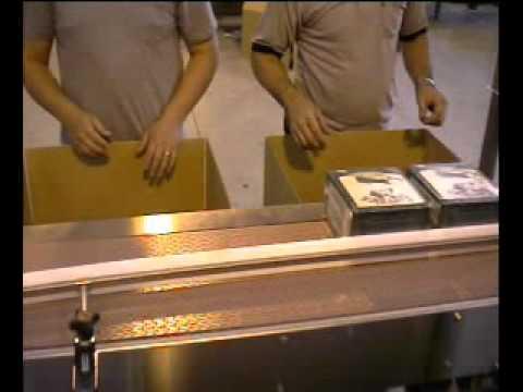 E3500 Ergopack Pet Snacks Hand Packing Station