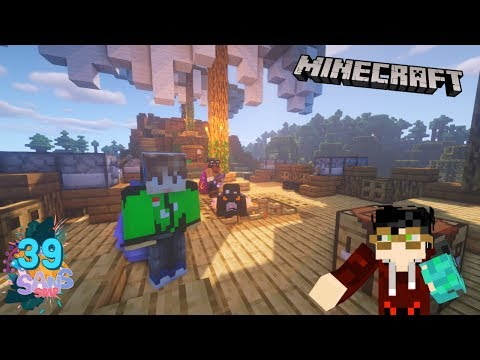 MARI MENDESAIN KAPAL BAJAK LAUT!! /w Odo Kentang #39  SANS SMP  Minecraft Indonesia