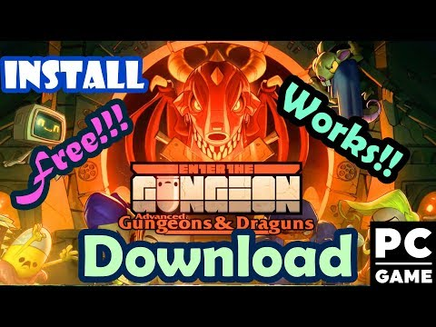 Enter the Gungeon : Advanced Gungeons and Draguns - Download and Install for PC [Torrent Download]