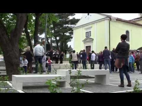 Otvoren obnovljeni Cvetkov trg na Drenovi