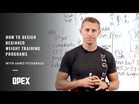 How To Design Beginner Weight Training Programs - YouTube