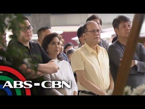 [ABS-CBN]  Noynoy, may pasaring kay Enrile matapos ang panayam kay Marcos