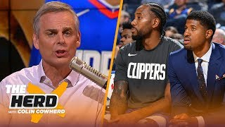 Colin proclaims Clippers as NBA's next dynasty, Rockets' loss is exactly what he expected | THE HERD