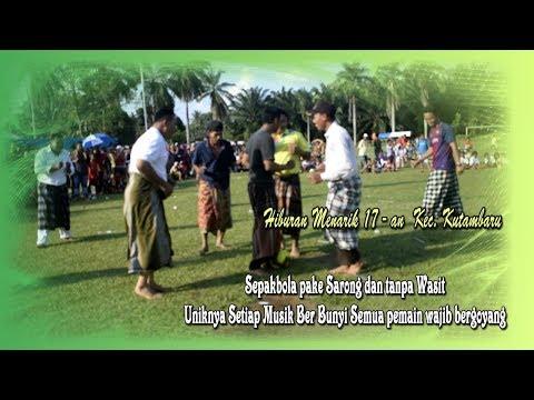 Hiburan Terheboh   HUT RI  74  di Kec  Kutambaru   Kab  Langkat
