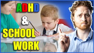 ADHD Tips: How To Stay FOCUSED On School Work!