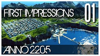 Anno 2205 Gameplay - Ep.01 - First Impressions