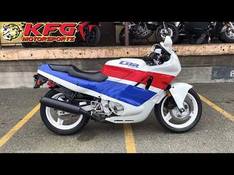 1989 Honda CBR600 in Auburn, Washington - Video 1