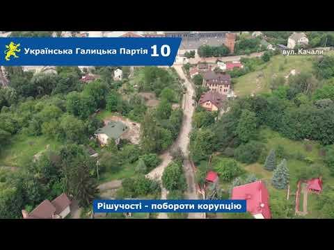 Над Левом: вул. Митрополита Липківського, Качали Степана