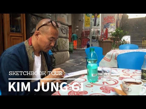 Talent: Kim Jung Gi – Personal Sketchbook Tour (He's Good)!