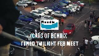 本迪克斯的汽车调到了二月的黄昏