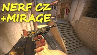 ZMIANY NA MIRAGE + balans broni! - Update w CS:GO | Mervo