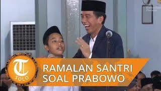 Ramalan Santri 2016 Jadi Kenyataan Terkait Prabowo yang Jadi Menteri di Kabinet Presiden Jokowi