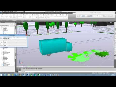 Autodesk Vehicle Tracking - Demonstration (Project Track)