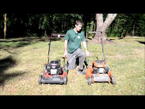 2 Pushmower options for lawn care businesses or homeowners -review