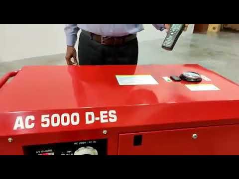 5kva Silent Diesel Generator