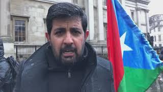 London: Hammal Haidar speech during awareness campaign