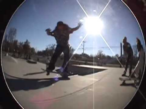 Jesus at the Belleville Skatepark