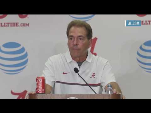 SPORTS Nick Saban rips into Lane Kiffin during Alabama's win over Western Kentucky