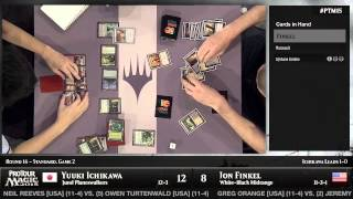 Pro Tour Magic 2015 - Round 16 (Standard) – Jon Finklel vs. Yuuki Ichikawa