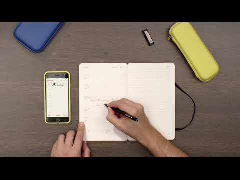 Moleskine Smart Writing Set Ellipse (A5, À rayures, couverture rigide)